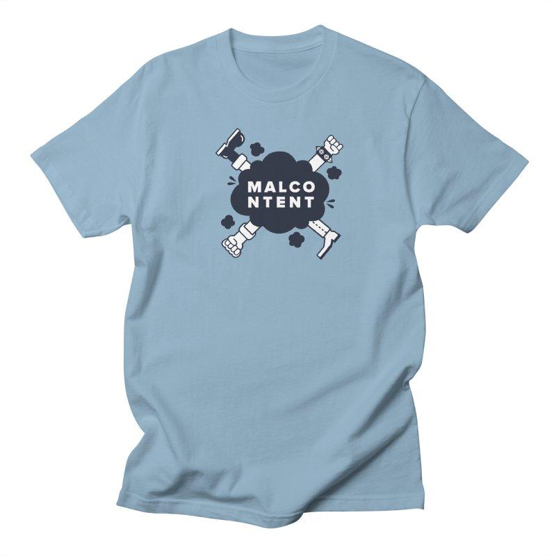MALCONTENT Fight Men's Regular T-Shirt by Rick Pinchera's Artist Shop