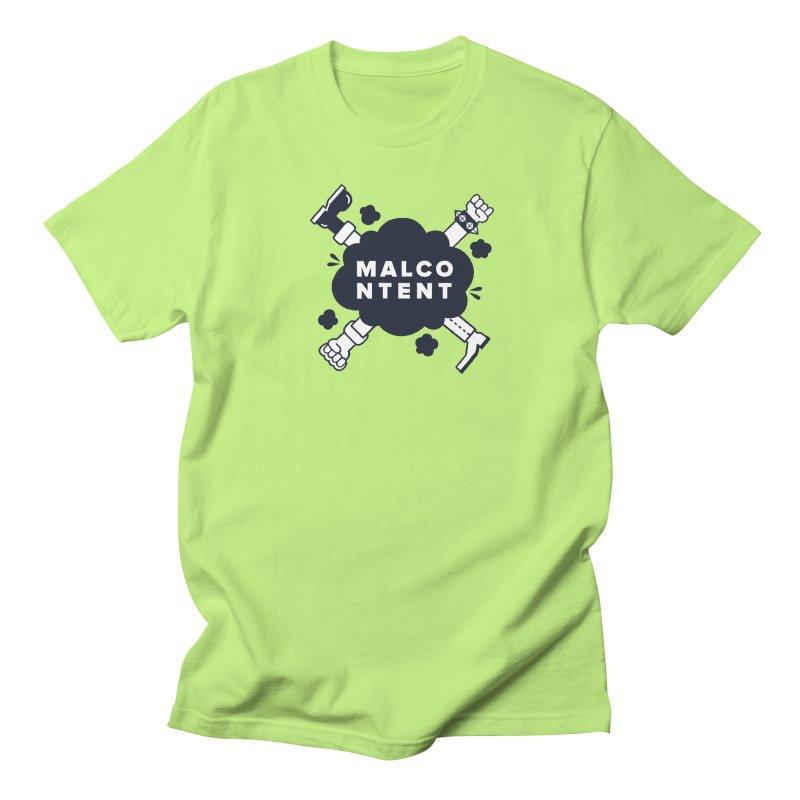 MALCONTENT Fight Men's T-Shirt by Rick Pinchera's Artist Shop