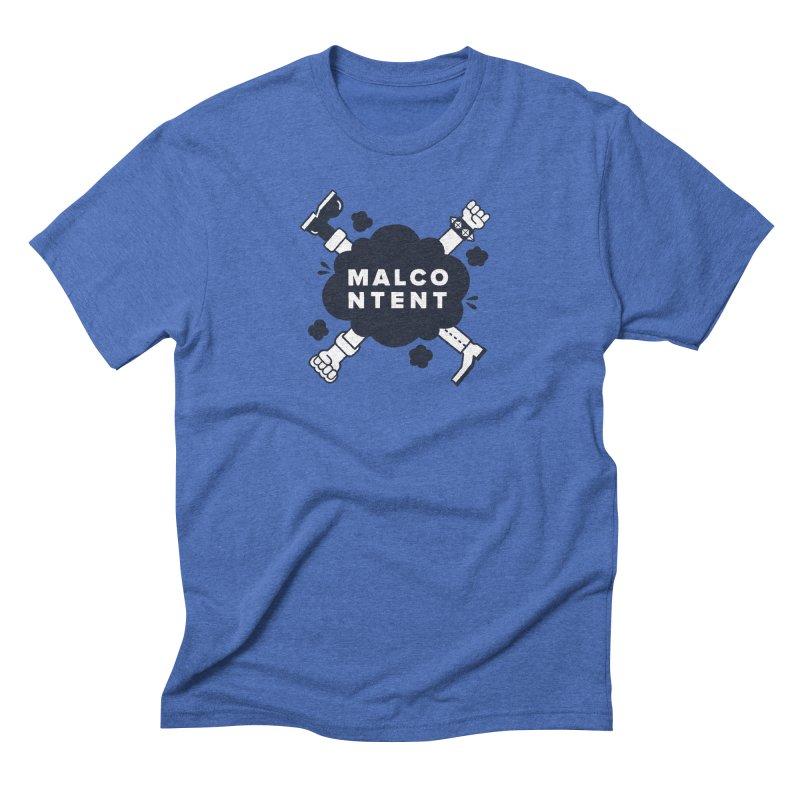 MALCONTENT Fight Men's Triblend T-Shirt by Rick Pinchera's Artist Shop