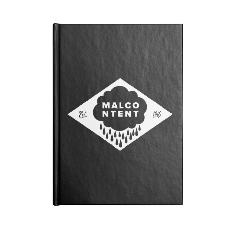 MALCONTENT Cloud Diamond Accessories Blank Journal Notebook by Rick Pinchera's Artist Shop