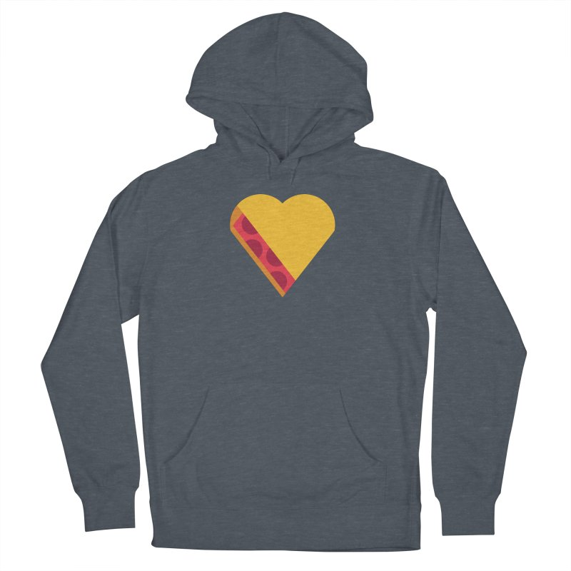 I Love Pie Women's French Terry Pullover Hoody by Rick Pinchera's Artist Shop