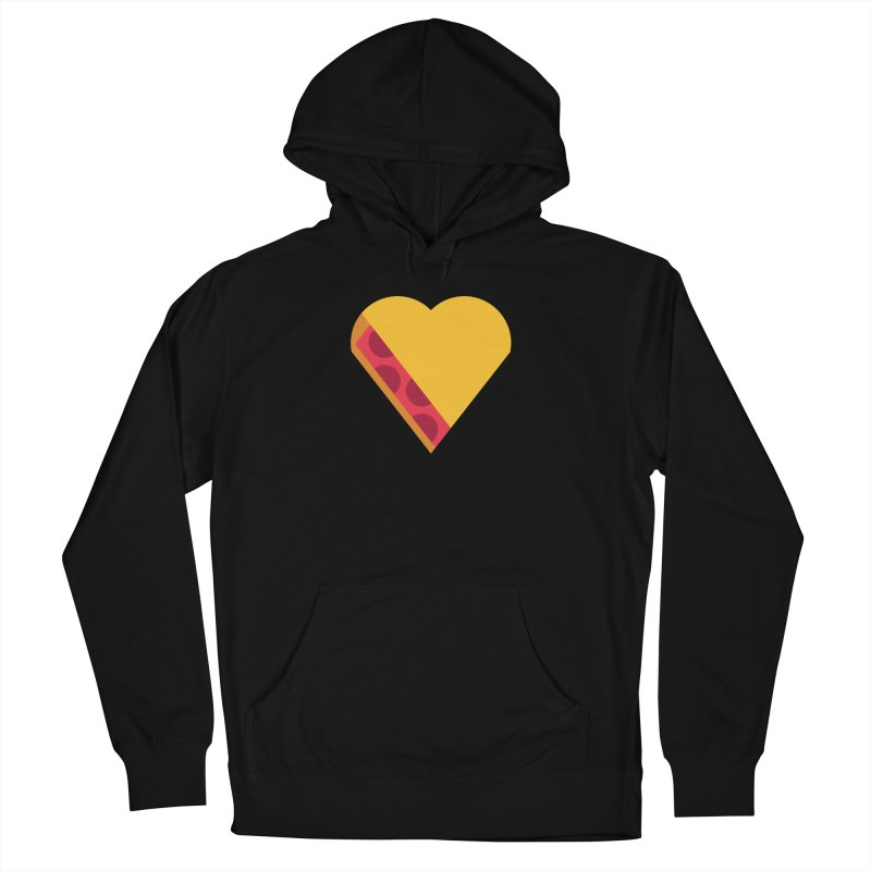 I Love Pie Men's French Terry Pullover Hoody by Rick Pinchera's Artist Shop