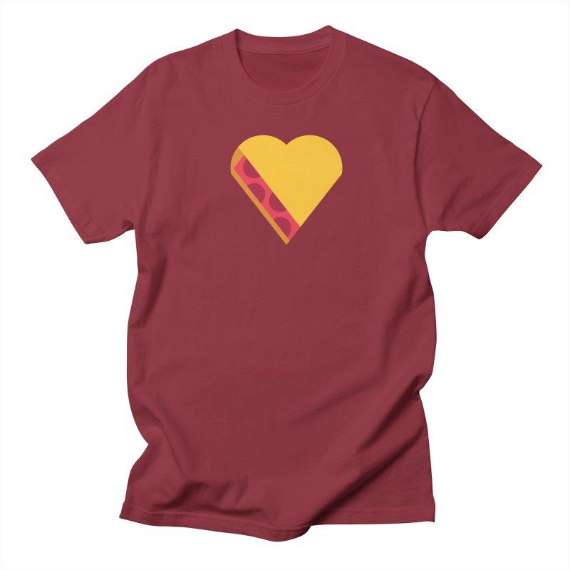 I Love Pie Men's Regular T-Shirt by Rick Pinchera's Artist Shop