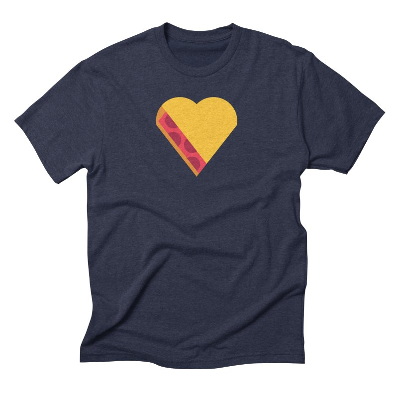 I Love Pie Men's Triblend T-Shirt by Rick Pinchera's Artist Shop