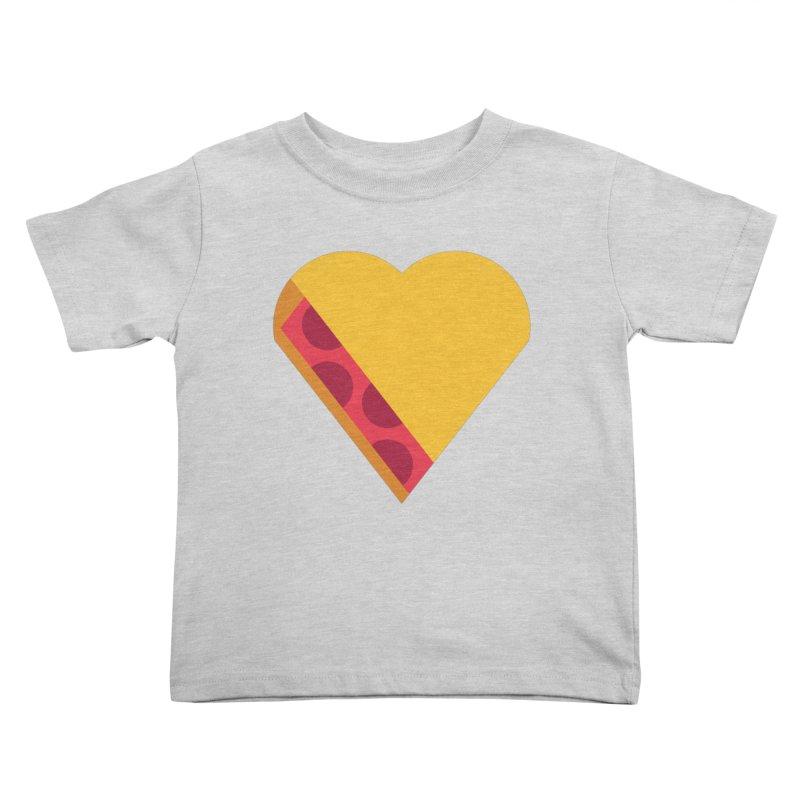 I Love Pie Kids Toddler T-Shirt by Rick Pinchera's Artist Shop