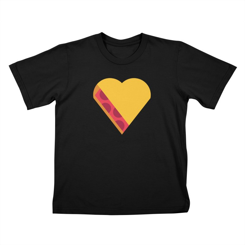 I Love Pie Kids T-Shirt by Rick Pinchera's Artist Shop