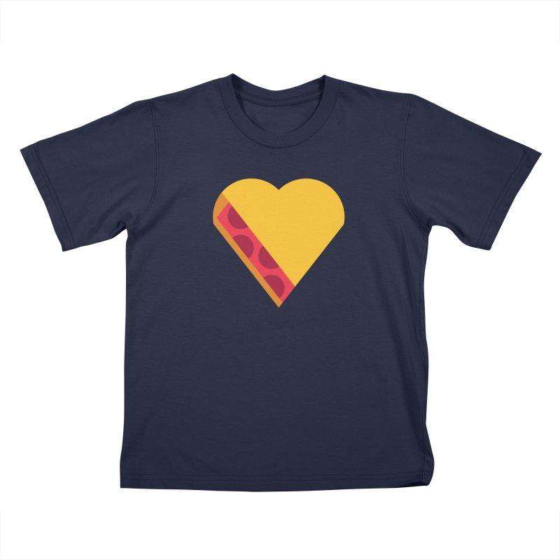 I Love Pie Kids T-Shirt by Rick Pinchera's Artist Shop