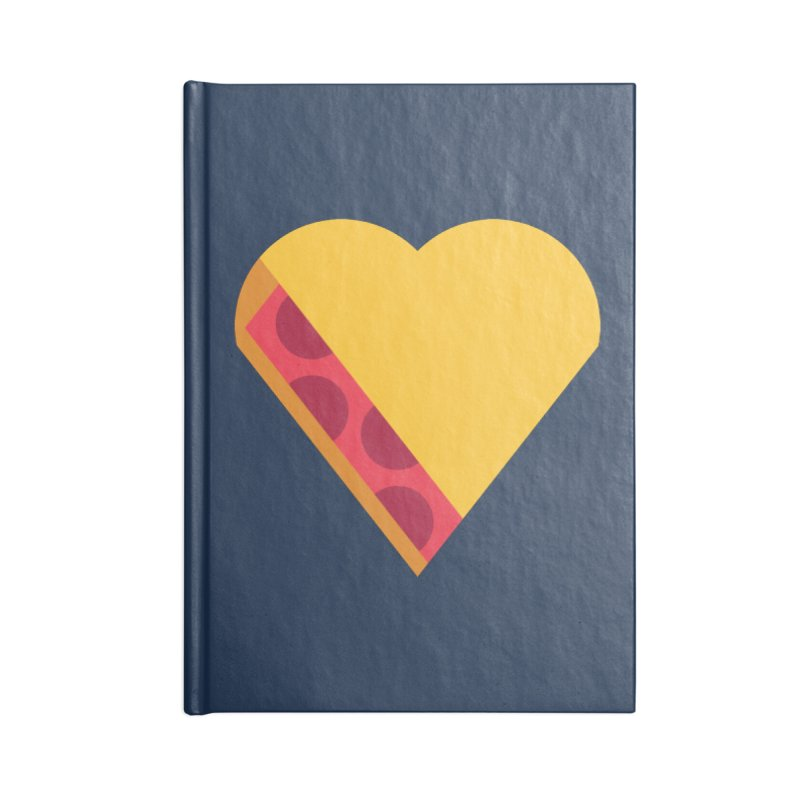 I Love Pie Accessories Lined Journal Notebook by Rick Pinchera's Artist Shop