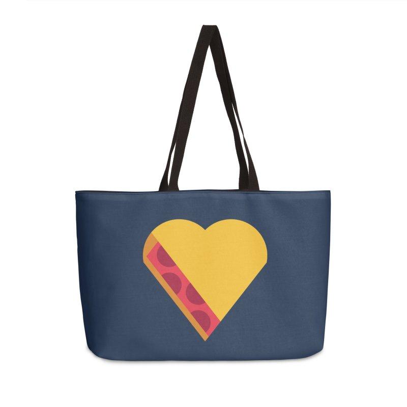 I Love Pie Accessories Weekender Bag Bag by Rick Pinchera's Artist Shop