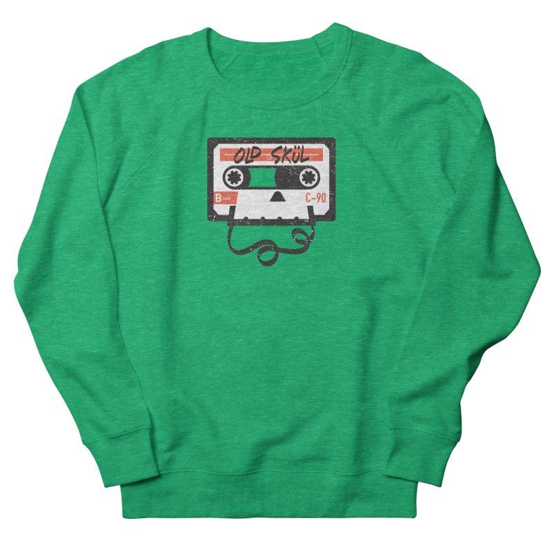 Old Skül Men's French Terry Sweatshirt by Rick Pinchera's Artist Shop