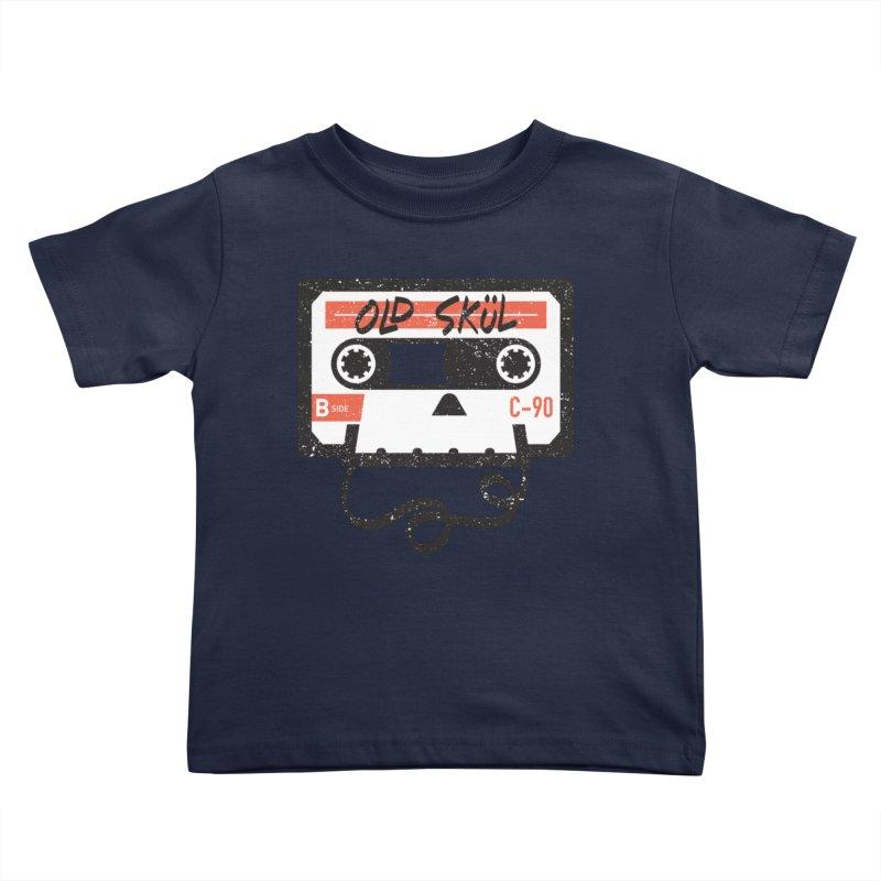 Old Skül Kids Toddler T-Shirt by Rick Pinchera's Artist Shop