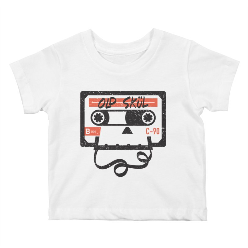 Old Skül Kids Baby T-Shirt by Rick Pinchera's Artist Shop