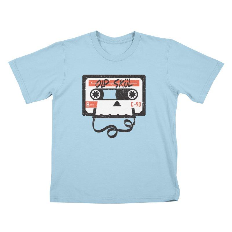 Old Skül Kids T-Shirt by Rick Pinchera's Artist Shop