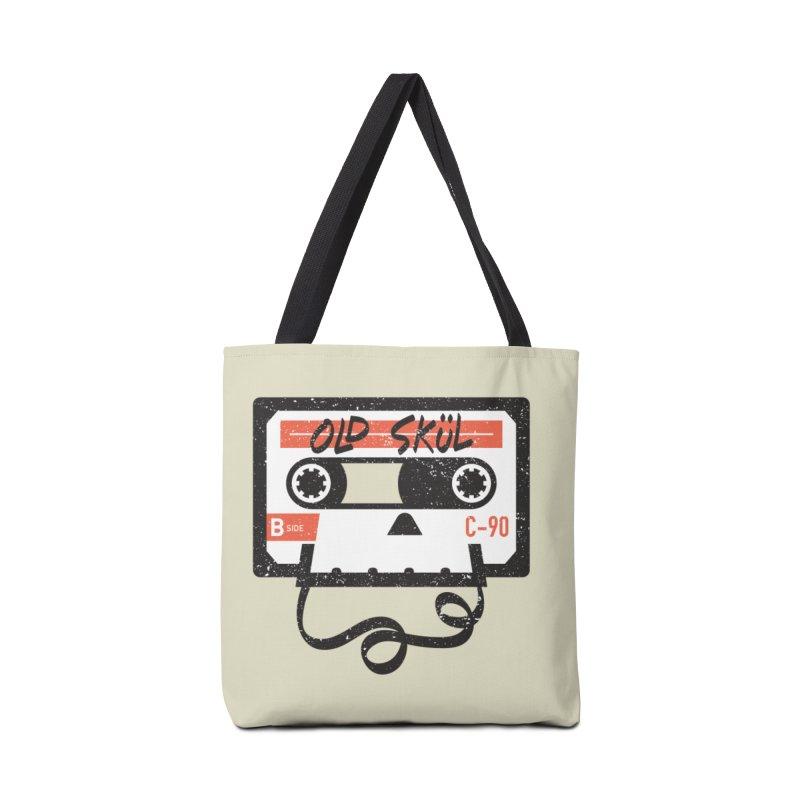Old Skül Accessories Bag by Rick Pinchera's Artist Shop