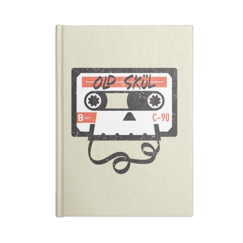 Old Skül Accessories Lined Journal Notebook by Rick Pinchera's Artist Shop