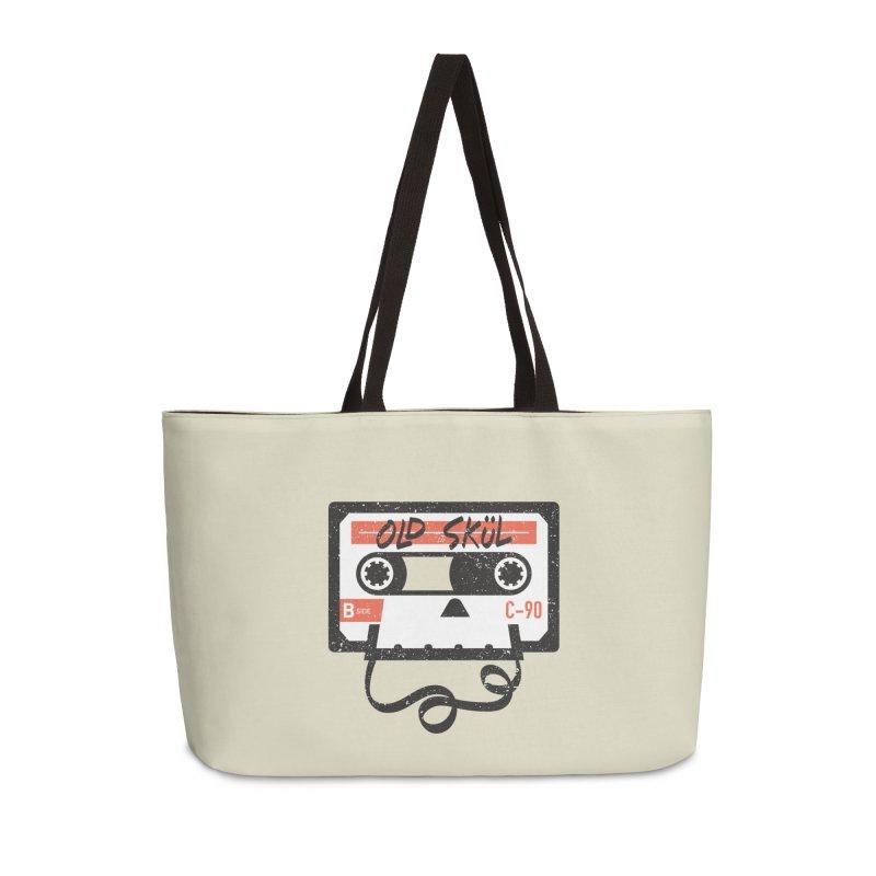 Old Skül Accessories Weekender Bag Bag by Rick Pinchera's Artist Shop
