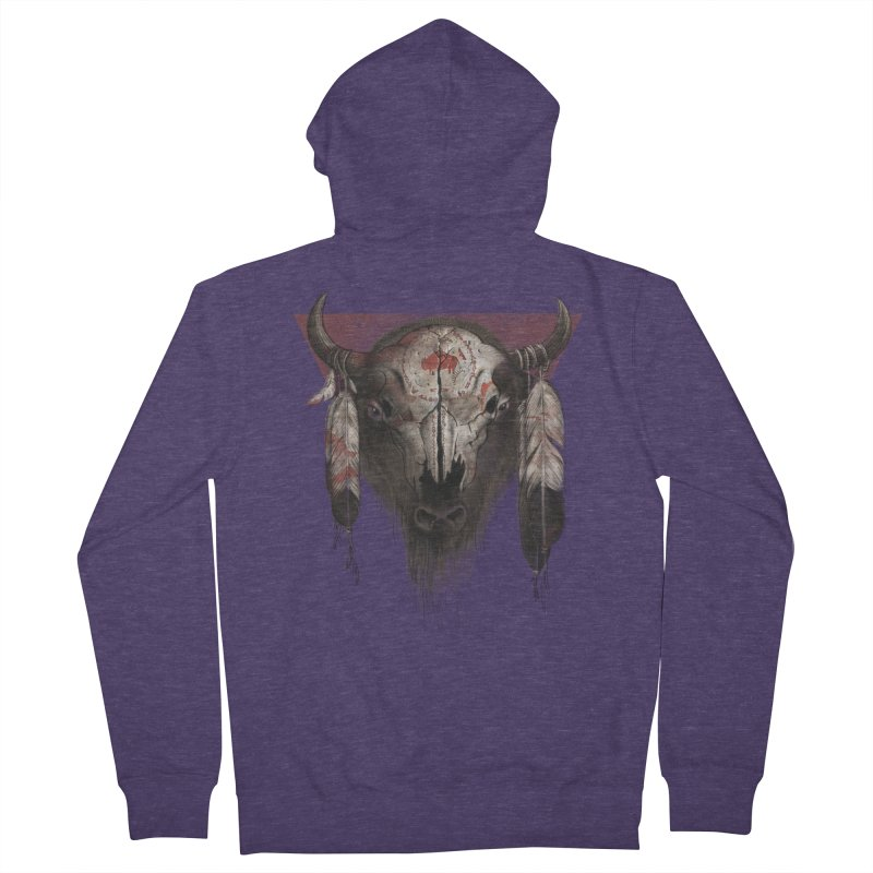Tatanka Men's Zip-Up Hoody by Ricomambo