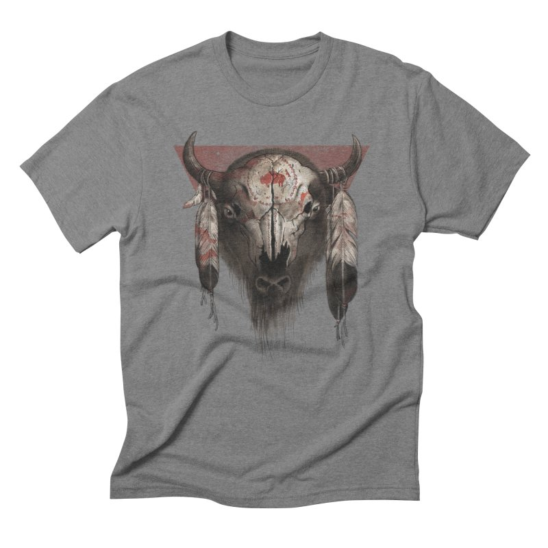 Tatanka Men's Triblend T-Shirt by Ricomambo