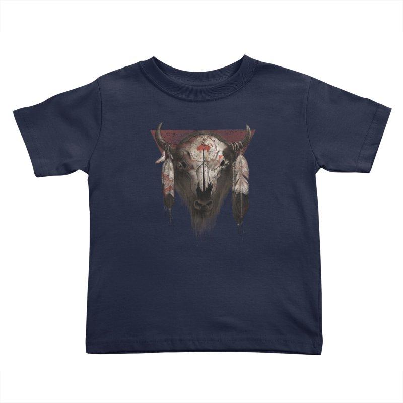 Tatanka Kids Toddler T-Shirt by Ricomambo
