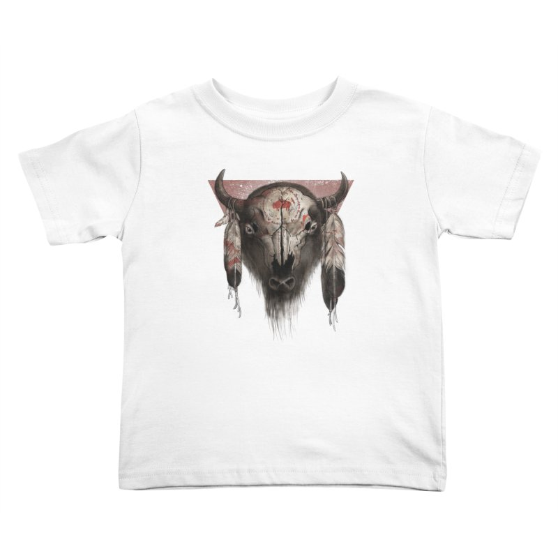 Tatanka Kids Toddler T-Shirt by Ricomambo