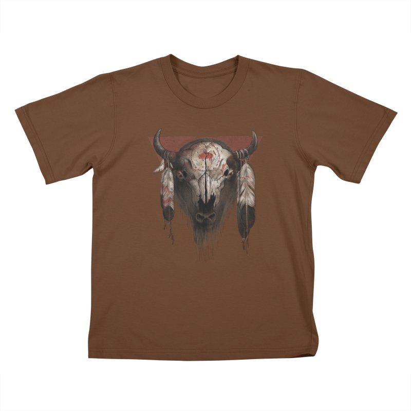 Tatanka Kids T-Shirt by Ricomambo