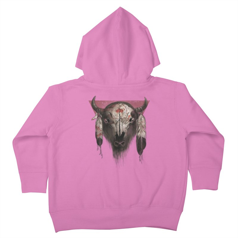 Tatanka Kids Toddler Zip-Up Hoody by Ricomambo