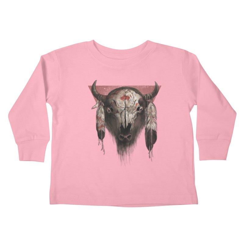 Tatanka Kids Toddler Longsleeve T-Shirt by Ricomambo
