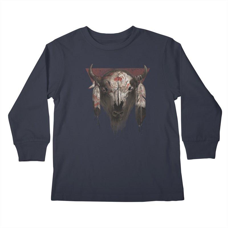 Tatanka Kids Longsleeve T-Shirt by Ricomambo