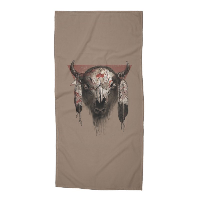 Tatanka Accessories Beach Towel by Ricomambo