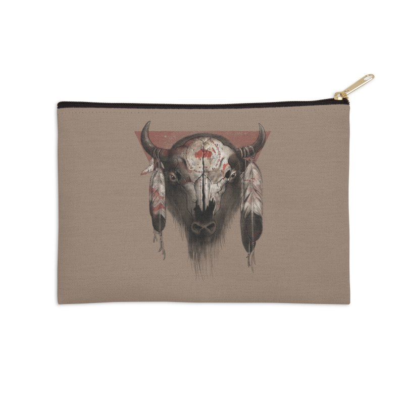 Tatanka Accessories Zip Pouch by Ricomambo