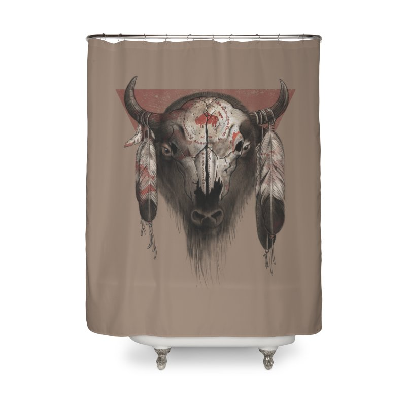 Tatanka Home Shower Curtain by Ricomambo