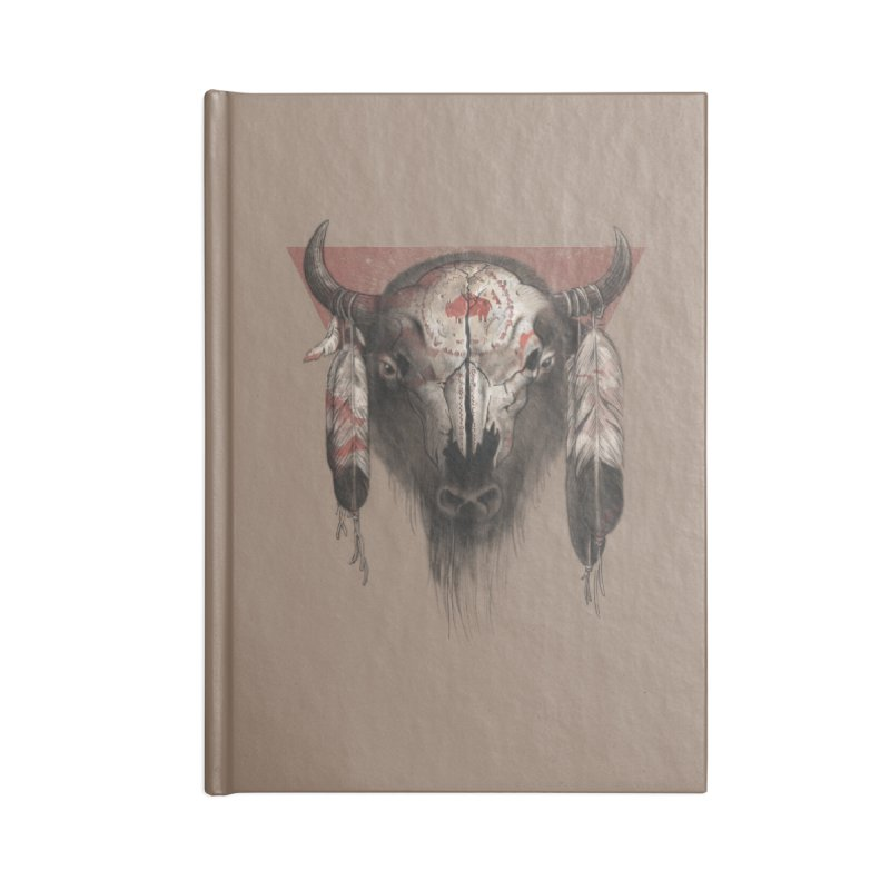 Tatanka Accessories Notebook by Ricomambo