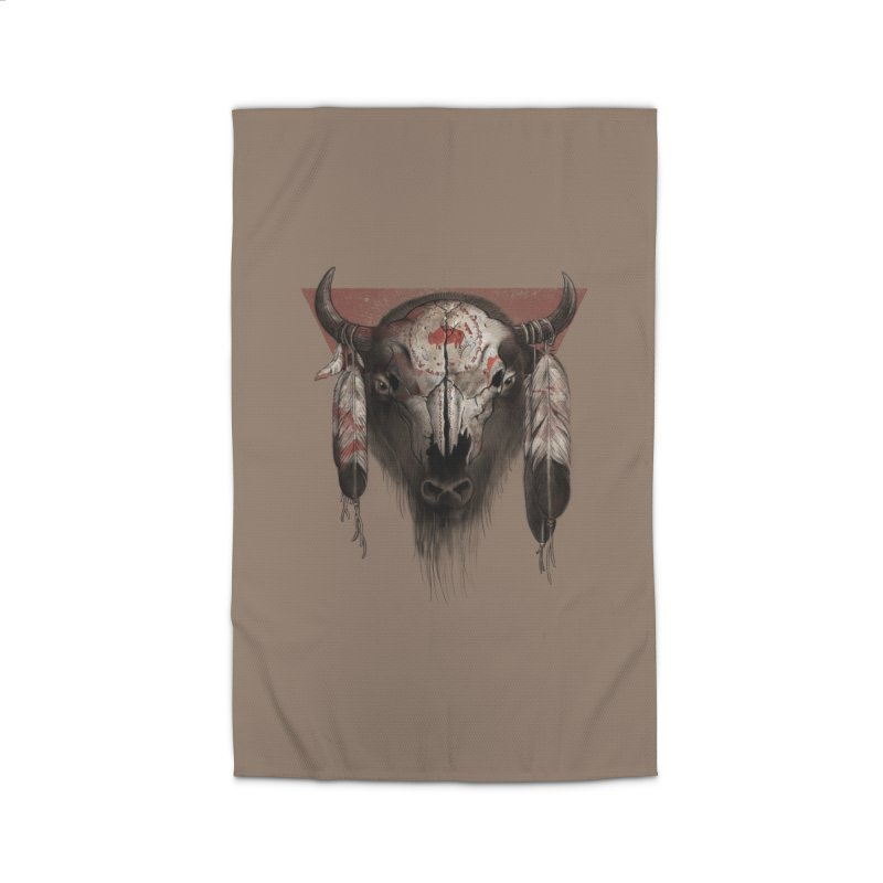 Tatanka Home Rug by Ricomambo