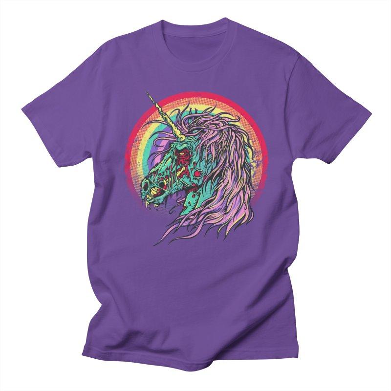 Unicorn Zombie Men's T-shirt by Ricomambo