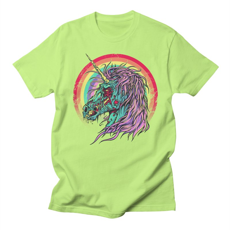 Unicorn Zombie Women's Unisex T-Shirt by Ricomambo