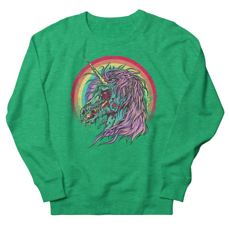 Unicorn Zombie Men's Sweatshirt by Ricomambo