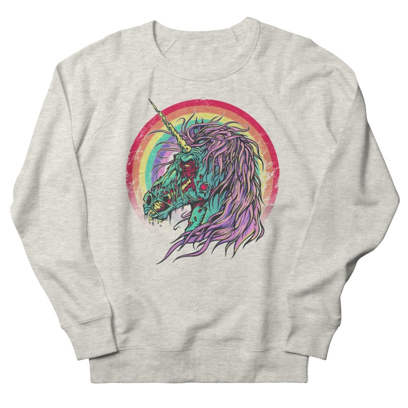 Unicorn Zombie Men's Sweatshirt by Ricomambo