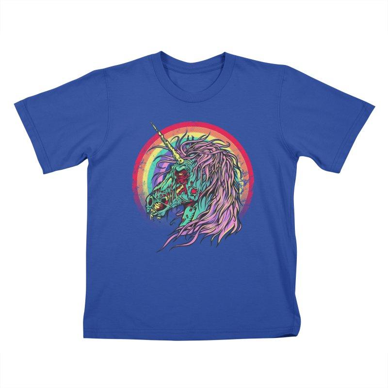Unicorn Zombie Kids T-shirt by Ricomambo
