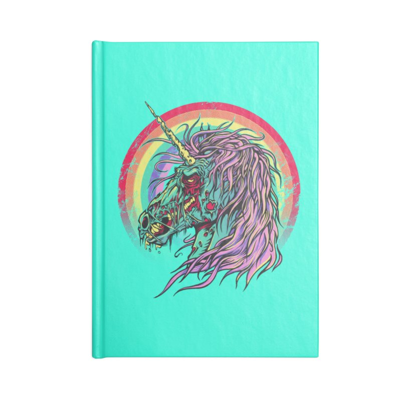 Unicorn Zombie Accessories Notebook by Ricomambo