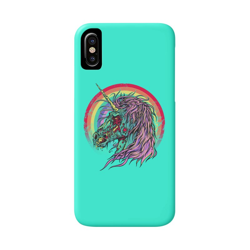 Unicorn Zombie Accessories Phone Case by Ricomambo