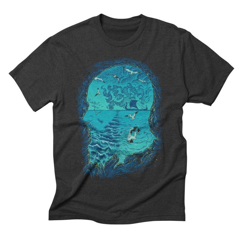 I Am War Men's Triblend T-shirt by Ricomambo