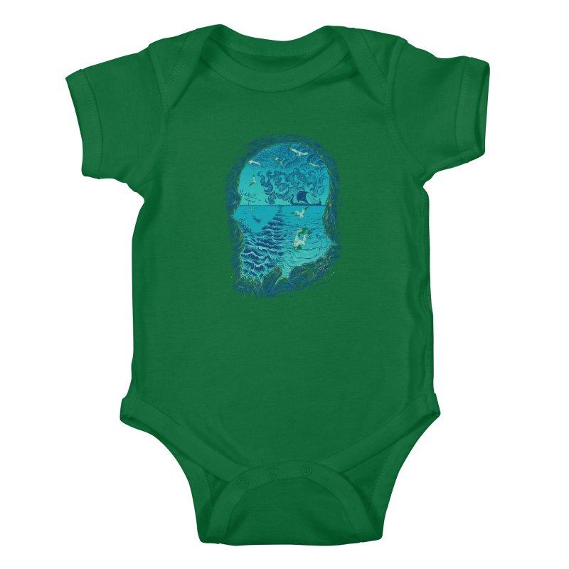 I Am War Kids Baby Bodysuit by Ricomambo