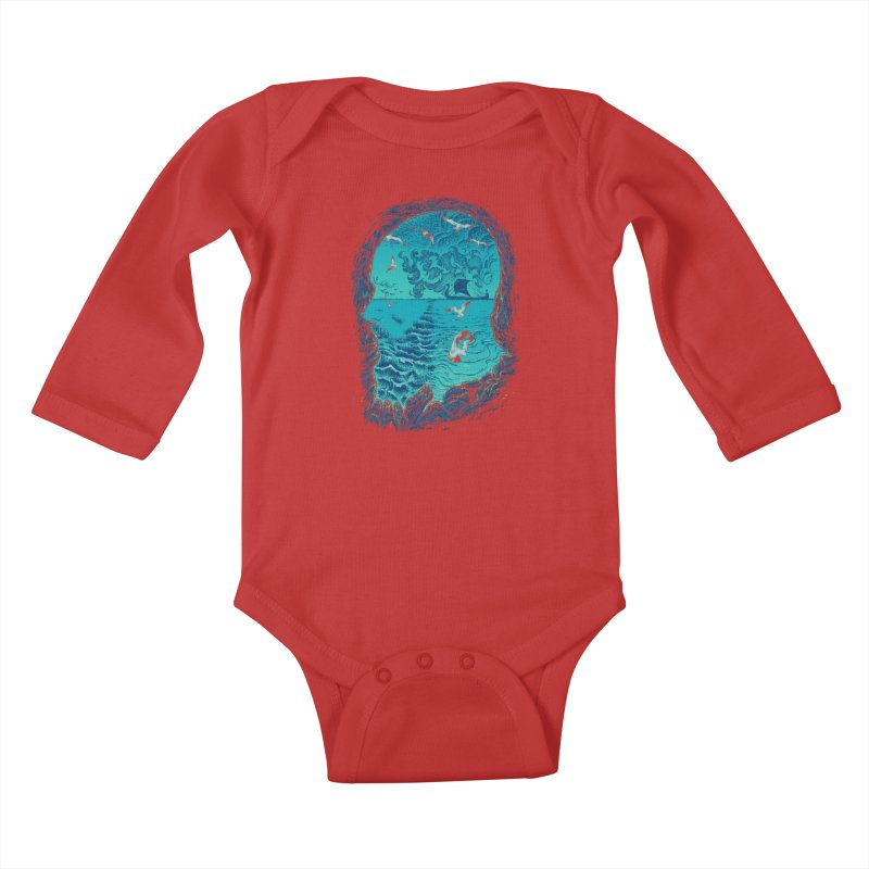 I Am War Kids Baby Longsleeve Bodysuit by Ricomambo