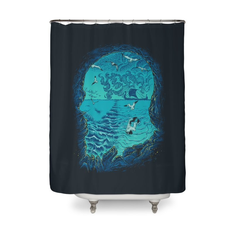 I Am War Home Shower Curtain by Ricomambo