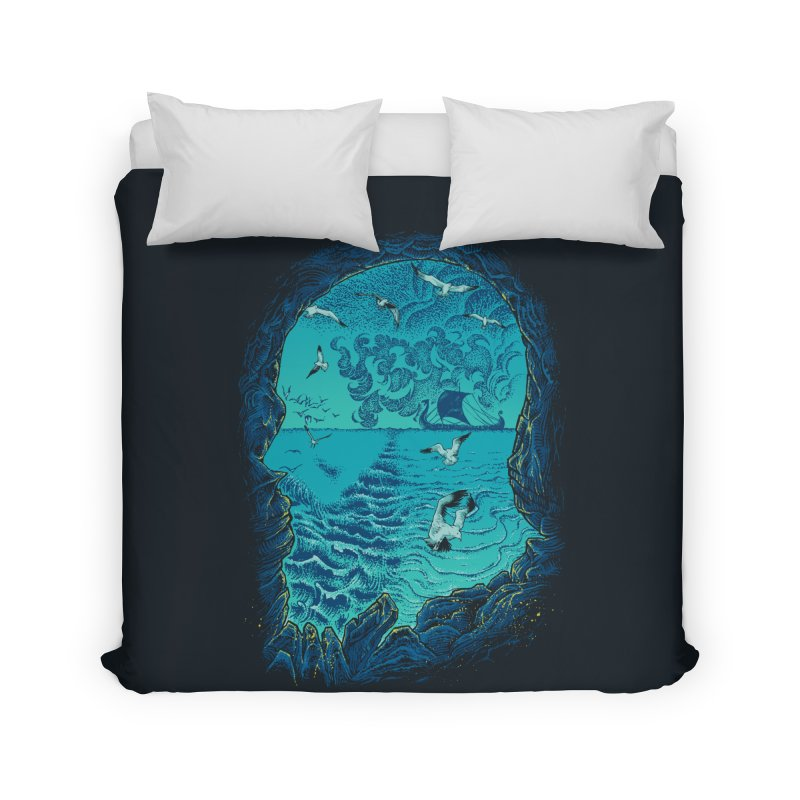 I Am War Home Duvet by Ricomambo