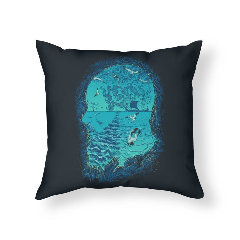 I Am War Home Throw Pillow by Ricomambo