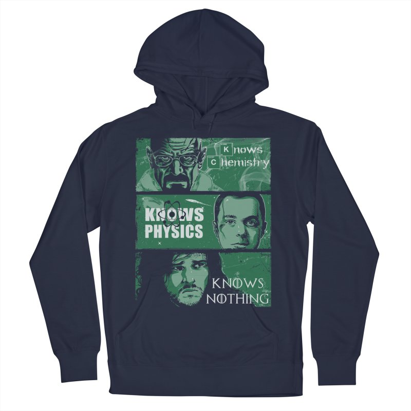 Knowledge Rules Men's Pullover Hoody by Ricomambo