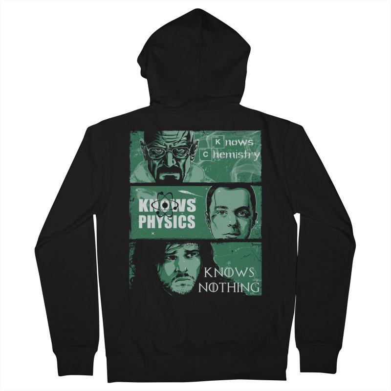 Knowledge Rules Women's Zip-Up Hoody by Ricomambo
