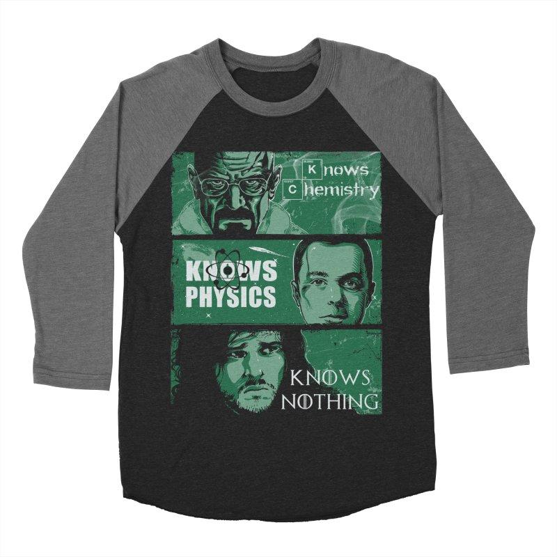 Knowledge Rules Women's Baseball Triblend T-Shirt by Ricomambo