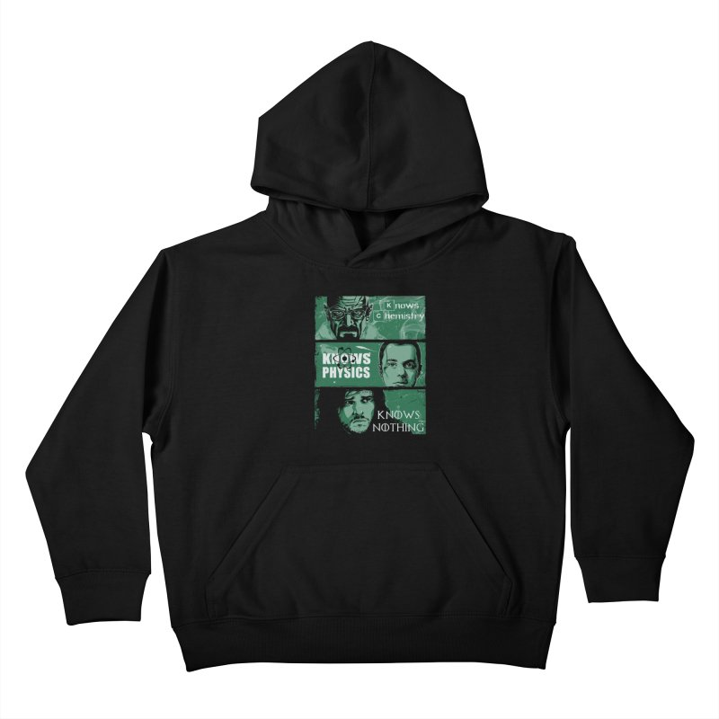 Knowledge Rules Kids Pullover Hoody by Ricomambo